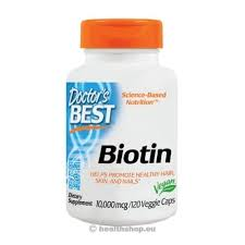 Doctor's Best Биотин, 10000 мкг, 120 ... - Health Shop