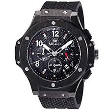 Megir Mens Watches Silicone Chronograph Military ... - Amazon.com
