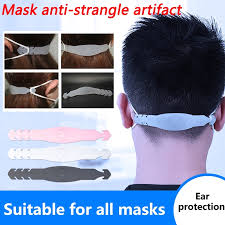 <b>Adjustable Anti-slip Mask Ear</b> Grips High Quality Extension Hook ...