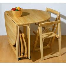 folding dining table suitable small kitchen chair