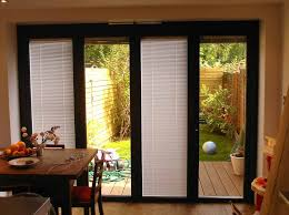 patio doors with blinds between the glass:  brilliant french patio doors with built in blinds door blinds sliding door blinds home depot youtube
