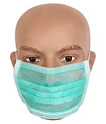 <b>Safety</b> Products <b>Disposable</b> Face <b>Mask</b>, 100 Pcs, Non Sterile, 2Ply ...