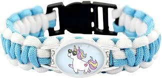 The <b>Electric</b> Mammoth Cute Unicorns Paracord <b>Bracelets</b> Girls ...