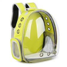 5 Colors Breathable Transparent <b>Pet</b> Travel <b>Backpack Dog Cat</b> ...