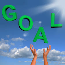 idea discovery steps for achieving your every goal idea goals letters falling showing objectives hope and future