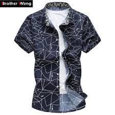 Online Shop for <b>mens</b> short sleeves plaid <b>shirt</b> regular size ...