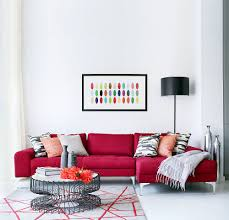 room modern bright red design view in gallery bright red sectional enlovens the chic family living r