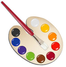 Image result for paint palette clipart