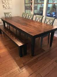 real rustic kitchen table long: stunning handmade rustic round farmhouse table furniture table centerpieces and farmhouse table