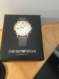 Emporio Armani Connected Mens <b>Smartwatch</b> ART3002 RRP ...