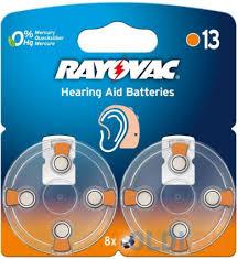 <b>Батарейки Varta Rayovac</b> Acoustic <b>Type</b> 13 PR48 8 шт — купить ...