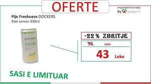 ASHEL MARKET - Dockers <b>Slim</b> Lemon Pije Freskuese me shije ...