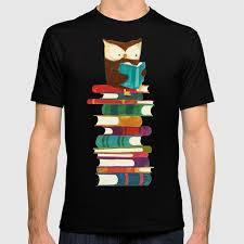 <b>Owl Reading</b> Rainbow <b>T-shirt</b> by budikwan | Society6