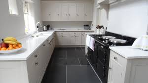 Gray And White Kitchen Designs Dark Grey Kitchen Floor Tiles Outofhome