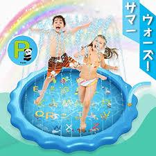 Amazon.co.jp: MOSEN <b>Fountain</b> Mat for <b>Kids</b>, Vinyl Pool, <b>Water</b> Play ...