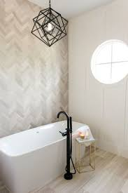 wall art walmart property bathroom master bath sanctuary with herringbone marble tile accent wall and kel