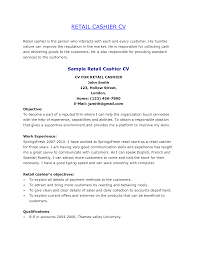 interesting cashier resume examples for job application retail cover letter interesting cashier resume examples for job application retail example work experience vacancycvs cashier job