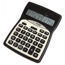 <b>Milan Калькулятор</b> настольный 16 разрядов 152016BL ...