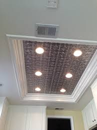 Fluorescent Kitchen Ceiling Light Fixtures Remodel Flourescent Light Box In Kitchen We Also Replaced The