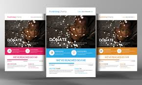 charity donation flyer template business templates flyer charity donation flyer template by business templates on creative market