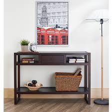 cheap entryway furniture furniture of america neviah open modern espresso entryway table minimalist cheap entryway furniture