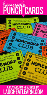 best ideas about homework motivation school tips get your kiddos to do their homework these homework punch cards print your choice of homework punch cards on bright colored paper or white punch on