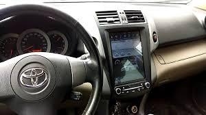 <b>Toyota RAV4 Штатная магнитола</b> в стиле Тесла для Тойота Рав4 ...