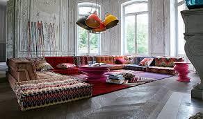 bohemian living room of modular roche bobois sofa fantastic design bohemian living room furniture
