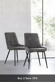 <b>Leather Dining Chairs</b> | <b>Leather</b> Set of 2 <b>Dining Chairs</b> | Next