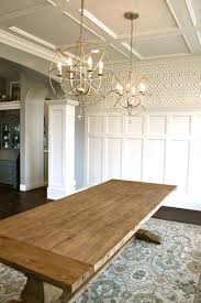 Farmhouse Dining Room Lighting 1000 Ideas About Dining Room Chandeliers On Pinterest Designer