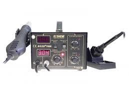 <b>Паяльная станция ELEMENT 852D</b>+FAN: покупка, описание ...