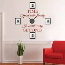 sun wall decal trendy designs: real family clock wall decal clock stickers for walls trendy wall designs