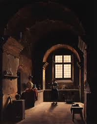 alchemy benjamin breen the alchemist francois marius granet oil on canvas 18th century a bit more spare on detail but this painting captures the moody contemplation of early