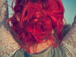 Resultado de imagen de pelo rojo tumblr