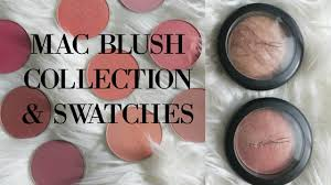 <b>MAC BLUSH</b> COLLECTION + SWATCHES - YouTube
