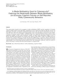 (PDF) Is Media <b>Multitasking</b> Good for <b>Cybersecurity</b>? Exploring the ...