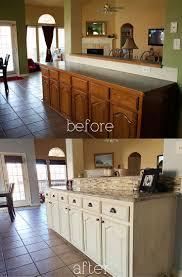 painted kitchen cabinets vintage cream: bampa kitchen diy antique glaze cabinets kashmir granite glass stone backsplash white glazed