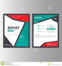 green abstract brochure report flyer magazine presentation element red green abstract brochure report flyer magazine presentation element template a4 size set for advertising marketing
