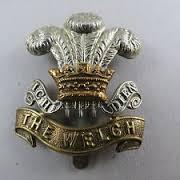 Image result for ww1 welsh regiment cap badge