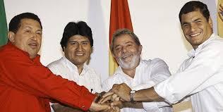 Image result for lula-chavez-evo-correa