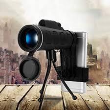 <b>40X60 Monocular Telescope BAK4</b> prism lens HD night Vision ...