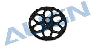 <b>180T</b> M0.6 Autorotation Tail Drive Gear set-Black H60020AA