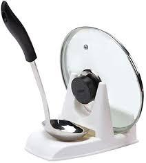 myQ <b>1pcs</b> Nordic style creative home <b>Spoon Pot</b> Lid Shelf Cooking ...