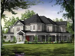 Queen Anne Style House Plans at Dream Home Source   Victorian HomesDHSW