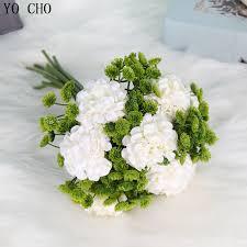 Artificial <b>Plant</b> Plastic Flower <b>Fake Hydrangea</b> Floral Art Pompom ...