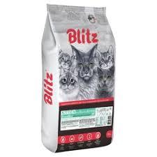 <b>Сухой корм Blitz</b> Kitten для котят с индейкой Купить в Москве