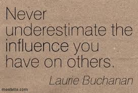 I is for Influence : Victoria J. Brown via Relatably.com