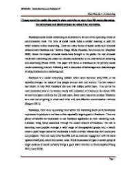easy essay on media and networking  social media and society  the        negative effects of social networking sites for students