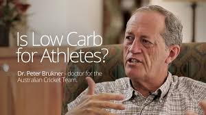 is low carb for athletes diet doctor interview dr peter brukner