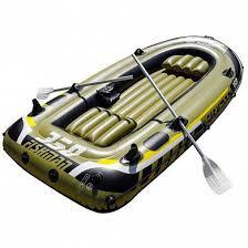 Купить <b>Лодку надувную Jilong Fishman</b> 350 Set (весла+насос ...